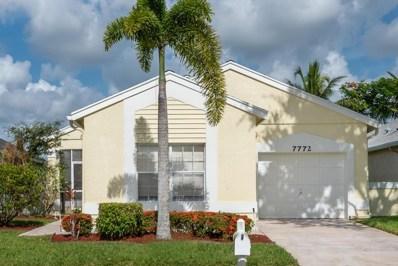 7772 Mansfield Hollow Road, Delray Beach, FL 33446 - MLS#: RX-10448584