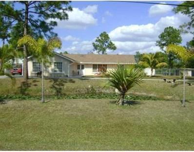 16087 E Stallion Drive, Loxahatchee, FL 33470 - MLS#: RX-10448692