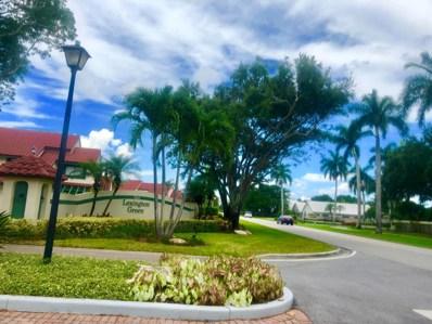 5 Lexington Lane E UNIT C, Palm Beach Gardens, FL 33418 - MLS#: RX-10448819