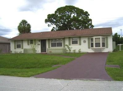 1065 SW Janette Avenue, Port Saint Lucie, FL 34953 - MLS#: RX-10449322