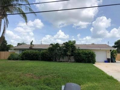 1502 E Easy Street, Fort Pierce, FL 34982 - MLS#: RX-10449383