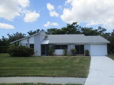 14807 Hideaway Lake Lane, Delray Beach, FL 33484 - MLS#: RX-10449631