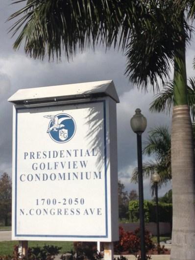 2050 N Congress Avenue UNIT 108, West Palm Beach, FL 33401 - MLS#: RX-10450026