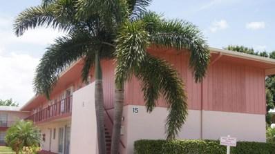 15 Golfs Edge UNIT F, West Palm Beach, FL 33417 - MLS#: RX-10450034