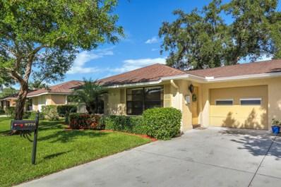 9775 Pecan Tree Drive UNIT A, Boynton Beach, FL 33436 - MLS#: RX-10450261