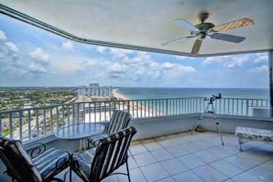 1340 S Ocean Boulevard UNIT 2003, Pompano Beach, FL 33062 - MLS#: RX-10450407
