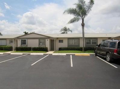 2833 Crosley Drive W UNIT B, West Palm Beach, FL 33415 - MLS#: RX-10450506