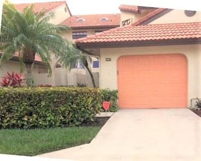 6007 Parkwalk Drive, Boynton Beach, FL 33472 - MLS#: RX-10450534