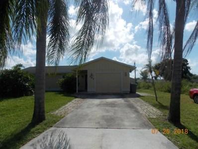 141 NW Peach Street, Port Saint Lucie, FL 34983 - MLS#: RX-10450549