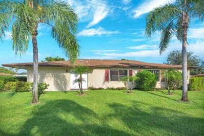 1633 Palmland Drive UNIT 8c, Boynton Beach, FL 33436 - MLS#: RX-10450742