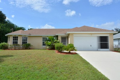 1392 SW Sudder Avenue, Port Saint Lucie, FL 34953 - MLS#: RX-10450821