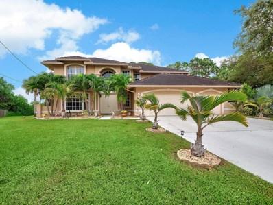 2619 SW Abel Street, Port Saint Lucie, FL 34953 - #: RX-10450952
