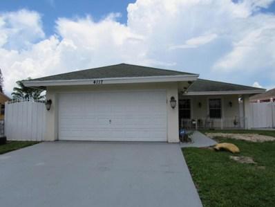 4117 Faith Street, West Palm Beach, FL 33406 - MLS#: RX-10451315