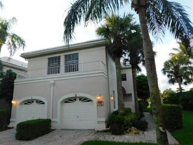 5130 Lake Catalina Drive UNIT D, Boca Raton, FL 33496 - #: RX-10451342