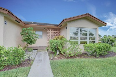 14612 Canalview Drive UNIT D, Delray Beach, FL 33484 - MLS#: RX-10451372