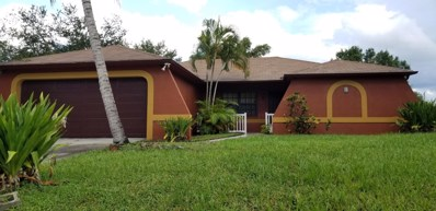 1036 SW Estaugh Avenue, Port Saint Lucie, FL 34953 - #: RX-10452481