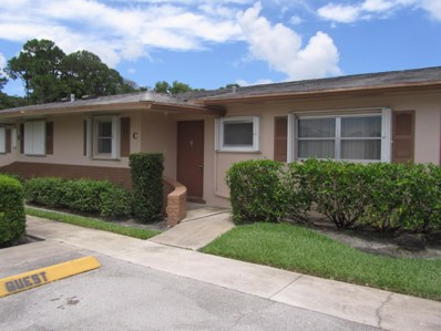 2509 Dudley Drive W UNIT C, West Palm Beach, FL 33415 - MLS#: RX-10452735
