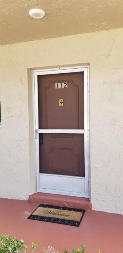 721 Lori Drive UNIT 112, Palm Springs, FL 33461 - MLS#: RX-10453110