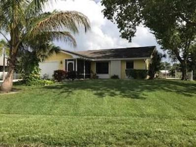 890 SW Gardens Boulevard, Palm City, FL 34990 - MLS#: RX-10453115