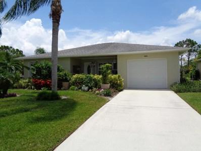 5681 Travelers Way, Fort Pierce, FL 34982 - MLS#: RX-10453215