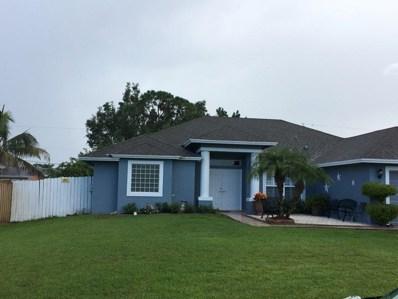 550 SW Fairway Avenue, Port Saint Lucie, FL 34983 - MLS#: RX-10453238