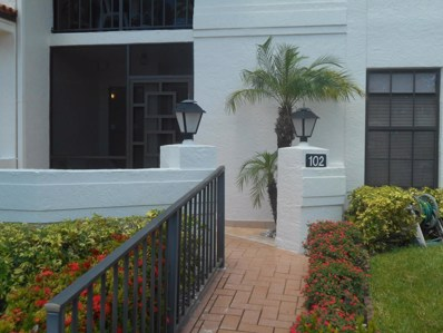 9729 Sills Drive E UNIT 102, Boynton Beach, FL 33437 - MLS#: RX-10453366
