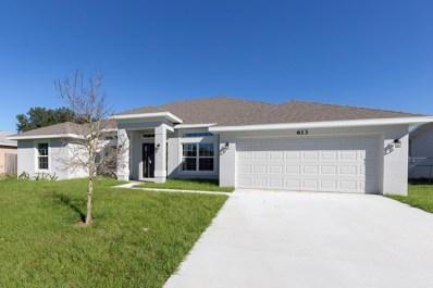 613 SW Cynthia Street, Port Saint Lucie, FL 34983 - MLS#: RX-10453404