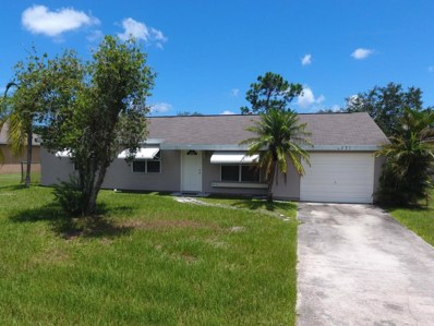 231 NW Bayshore Boulevard, Port Saint Lucie, FL 34983 - MLS#: RX-10453562