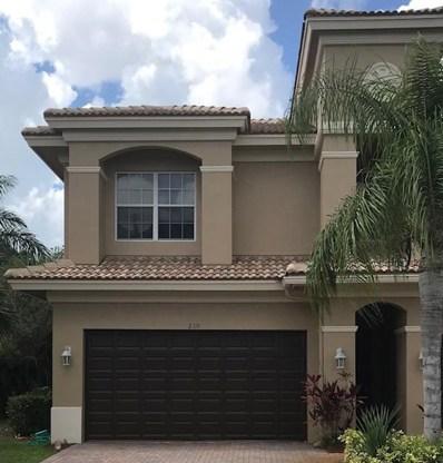 210 Catania Way UNIT 0, Royal Palm Beach, FL 33411 - MLS#: RX-10453821