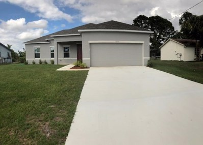 1217 SW Marmore Avenue, Port Saint Lucie, FL 34953 - MLS#: RX-10453924