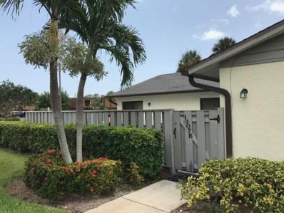 1307 Peppertree Trail UNIT B, Fort Pierce, FL 34950 - MLS#: RX-10454332