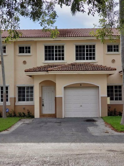 723 SW 6th Street UNIT 8, Hallandale Beach, FL 33009 - MLS#: RX-10454422