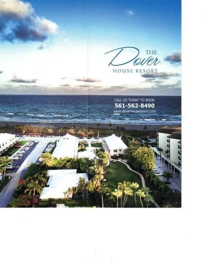 110 S Ocean Boulevard UNIT 306, Delray Beach, FL 33483 - MLS#: RX-10454550