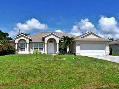 4425 SW Fireside Circle, Port Saint Lucie, FL 34953 - MLS#: RX-10454773