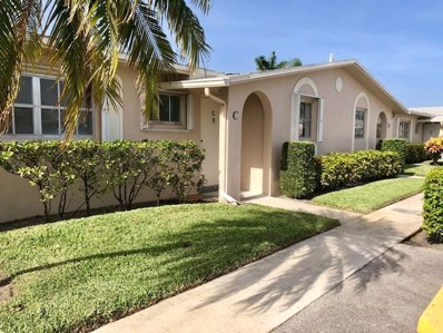 2760 Dudley Drive E UNIT C, West Palm Beach, FL 33415 - MLS#: RX-10454887