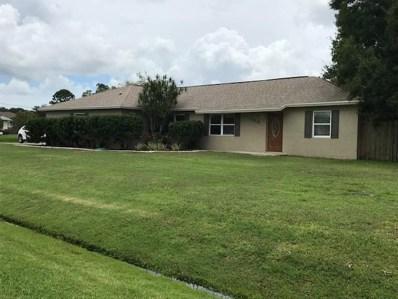 440 SW Buxton Avenue, Port Saint Lucie, FL 34983 - MLS#: RX-10455242