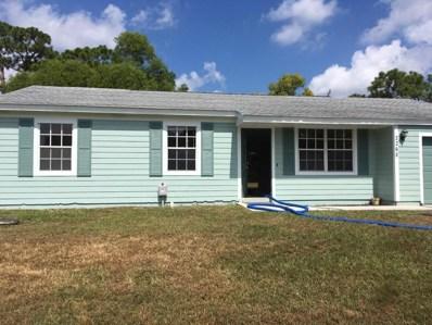 2268 SE Merrill Road, Port Saint Lucie, FL 34952 - MLS#: RX-10455309