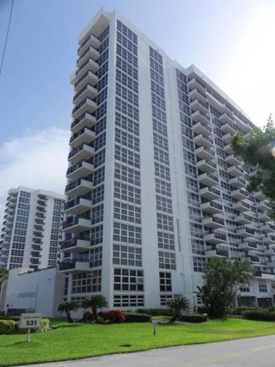 531 N Ocean Boulevard UNIT 1102, Pompano Beach, FL 33062 - MLS#: RX-10455320