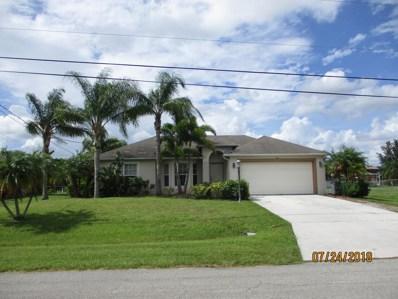 661 SW McCoy Avenue, Port Saint Lucie, FL 34953 - MLS#: RX-10455459