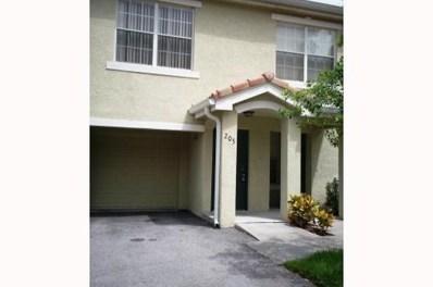 116 SW Peacock Boulevard UNIT 9205, Port Saint Lucie, FL 34986 - MLS#: RX-10455484