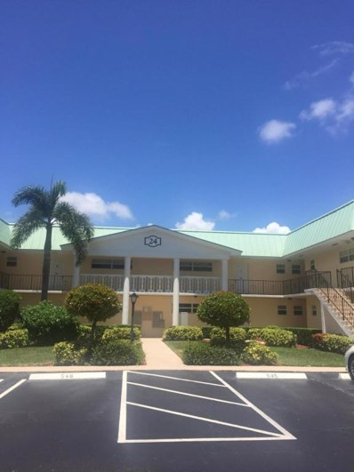 24 Colonial Club Drive UNIT 103, Boynton Beach, FL 33435 - MLS#: RX-10455495