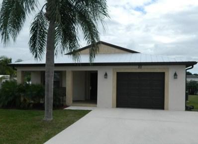 14491 Isla Flores Avenue, Fort Pierce, FL 34951 - MLS#: RX-10455719