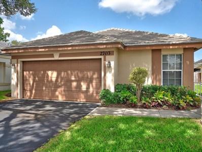 2703 Millwood Court, Davie, FL 33328 - #: RX-10455820