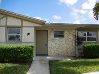 2570 Barkley Drive E UNIT F, West Palm Beach, FL 33415 - MLS#: RX-10456090