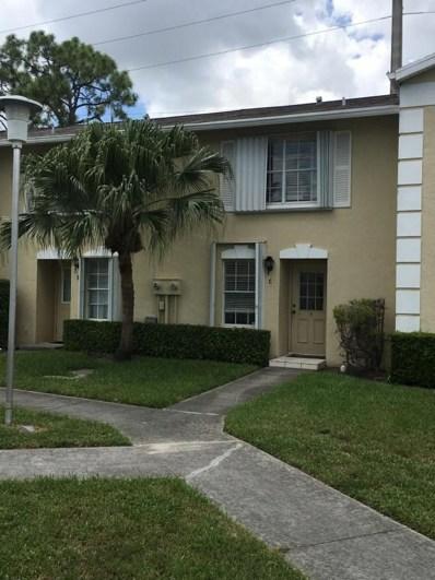 211 Foxtail Drive UNIT C, Greenacres, FL 33415 - MLS#: RX-10456150
