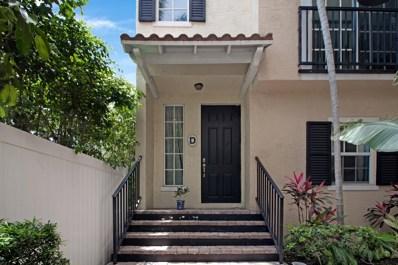 150 NE 6th Avenue UNIT D, Delray Beach, FL 33483 - MLS#: RX-10456182