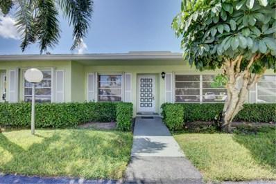 2381 Shady Lane UNIT 104-B, Delray Beach, FL 33445 - MLS#: RX-10456786