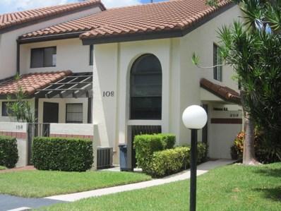 10231 N Circle Lake Drive UNIT 202, Boynton Beach, FL 33437 - MLS#: RX-10456988