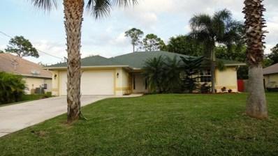 6010 Bamboo Drive, Fort Pierce, FL 34982 - MLS#: RX-10457543