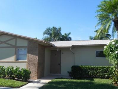 2882 Crosley Drive W UNIT G, West Palm Beach, FL 33415 - MLS#: RX-10457572